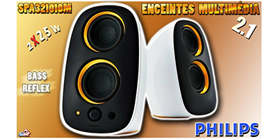 Enceintes Philips